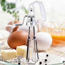 Stainless Steel Hand Whisk Egg Beater Manual Rotary Mixer Blender Kitchen Tool