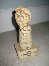 Sillisculpt Mother's Day Vintage Loving Mom Ugly FUnky Tacky Paula 1980 W:597 Gi