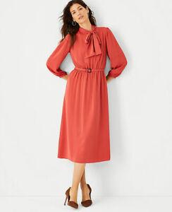 ANN TAYLOR Midi DRESS: Size 10,  New Arrivals, New W/ $159.00