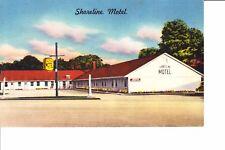 Milford, CT   Shoreline Motel  @ 1950
