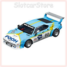 "Carrera digital 124 23828 bmw m1 Procar ""limpio racing nº 90"" 1980 1:24 auto"