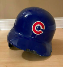 Chicago Cubs Game Used Helmet - Nate Scheirholtz #19 from 2013