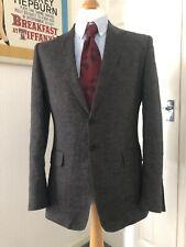 PS By Paul Smith Men's 100% Linen Blazer Jacket Size 40 Medium M Brown Summer