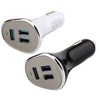 6.3A 3-Port USB 3.0 12V/24V Universal Car Cigarette Lighter Fast Charger Adapter