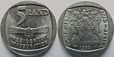 1994 South Africa Uncirculated Presidential Mandela Inauguration Nickel 5 Rand
