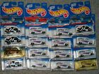 Hot Wheels Lot of 16 Dairy Delivery Divco Milk Trucks First edition plus others