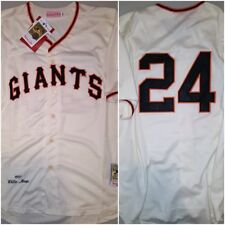 New York Giants WILLIE MAYS Throwback Replica Mens XL Cream Baseball Jersey