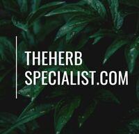 TheHerbSpecialist.com Herb Garden Hemp Domain Name