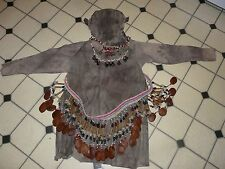 BORA PERU AMAZON INDIAN  MONKEY DANCE COSTUME AND REGALIA- RARE!!