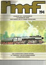 RMF N° 194 141 TENDER REGION NORD / GARE DE LA COURONNE-CARRO / TGV-086 /MARKLIN