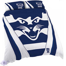 Geelong Cats Quilt | Doona Cover Set | AFL Aussie Rules | Football | Double