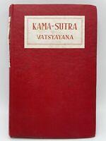 Kama-Sutra of Vatsyayana 1945 sixth edition hardcover Hindu art of love