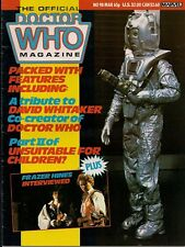 Doctor Who Magazine No.98 FRAZER HINES, ENEMY OF THE WORLD