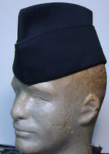US Army Enlisted men's overseas cap serge green slightly used Vari sizes ?
