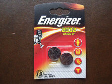 Energizer CR2032 Lithium Button Cell 2 Pack