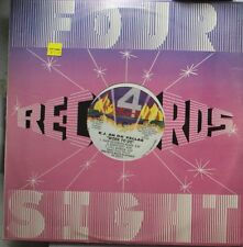 "R&B/Soul Sealed 12"" Lp Kj An Da' Fellas Work To Do On 4Sight"
