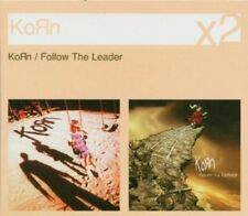 KORN - KORN/FOLLOW THE LEADER - IMPORT 2XCD RARE/NEW  FREE 1ST CLASS SHIPPING!!!