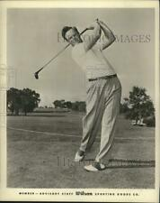 "1958 Press Photo Golfer Stewart ""Skip"" Alexander. - hps00734"