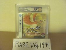 Pokemon HeartGold w/ Pokewalker (Nintendo DS) NEW Sealed VGA 85+ GOLD MINT