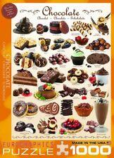 Eurographics Chocolate 1000 Piece Jigsaw EG60000411