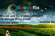 Movie-T.V.Collection Google Drive streaming+Nflix alternative+Plex-pc supported