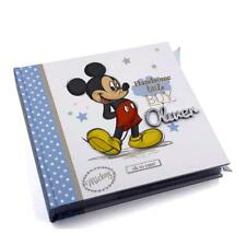 Raised Words Personalised Disney Baby Photo Album Mickey Mouse DI421-WP