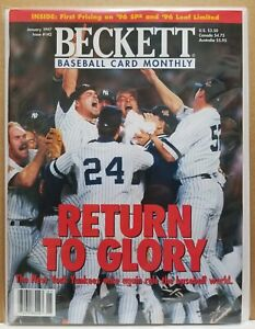 BECKETT BASEBALL MONTHLY (1/97) - RETURN TO GLORY: 1996 CHAMPIONS NY YANKEES