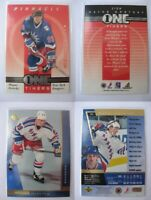 1997-98 Be A Player 1 of 20 Gretzky Wayne  one timers  rangers