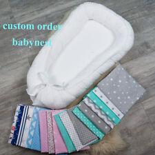 Il nido di colore, ordine personalizzato BIADESIVO Babynest per il neonato