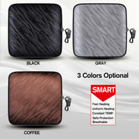 70℃ Universal Car Seat Square Pad Cushion Cover Heating Heater Warm Heated  ☇ ≈