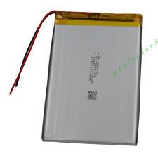 3.7V 2500 mAh Polymer Li Lithium cells For GPS Mp4 Mp3 Camera Tablet PC 406090