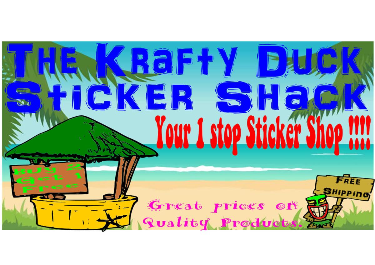 The Krafty Duck Sticker Shack