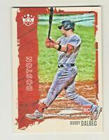 2021 Panini Donruss Diamond Kings #36 BOBBY DALBEC RC Rookie Boston Red Sox