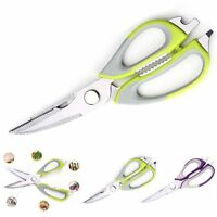 9.0'' Strong Kitchen Shears Stainless Steel Poultry Fish Chicken Bone Scissors