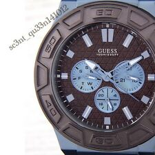 AUTHENTIC GUESS MEN'S FORCE CHRONOGRAPH WATCH W0674G5 BRAND NEW $449