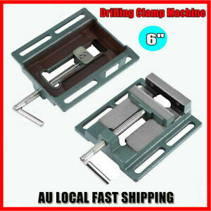 6'' Drill Press Vice Bench Vise Clamp Milling Machine Maintenance Tool 150mm New