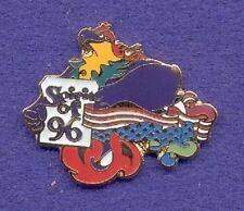 Patriotic Usa American Flag Spirit of '96 Phoenix Bird Paralympic Olympic Pin