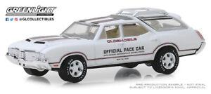 1:64 GreenLight *INDIANAPOLIS 500* 1970 Oldsmobile Vista Cruiser WAGON PACE CAR