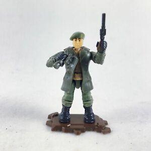Mega Bloks Construx Call of Duty WWII Soldier in Green Coat w/ Telecope & Gun