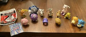 Pokémon The First Movie 1999 Burger King Set of 13 Collectible Toys With Bags