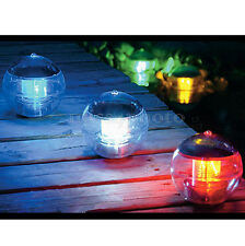 Solar Powered Floating LED Light Water Swimming Pool