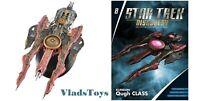 Star Trek Discovery Klingon Qugh Class Destroyer Issue #8 w/booklet Eaglemoss