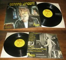 GERARD VINCENT - Same LP ORG French Rock Pop Funk Baccara Philippe Goubin Covers