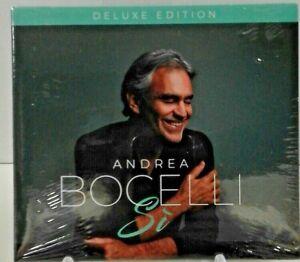 Andrea    BOCELLI  -  Si' (Deluxe Edition)   (CD / Digipack )