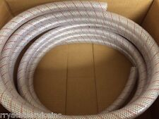 "HOSE CLEAR PVC TUBING RED TRACER 3/4"" 88 1620346 24FT MARINE BOAT WATER EBAY"