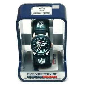 Atlanta Falcons Game Time NFL Wrist Watch - New in Gift Packaging As Shown