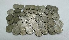 Awesome Lot of 100 No Date Buffalo Nickels! NO Acid Treated Coins!