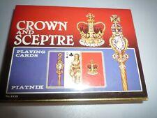 CROWN AND SCEPTRE PLAYING CARDS PIATNIK  BNIB