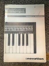 Novation BassStation Owner's Manual