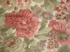 SANDERSON CURTAIN FABRIC DESIGN   ROSE AND PEONY  3.5 METRES DK3572